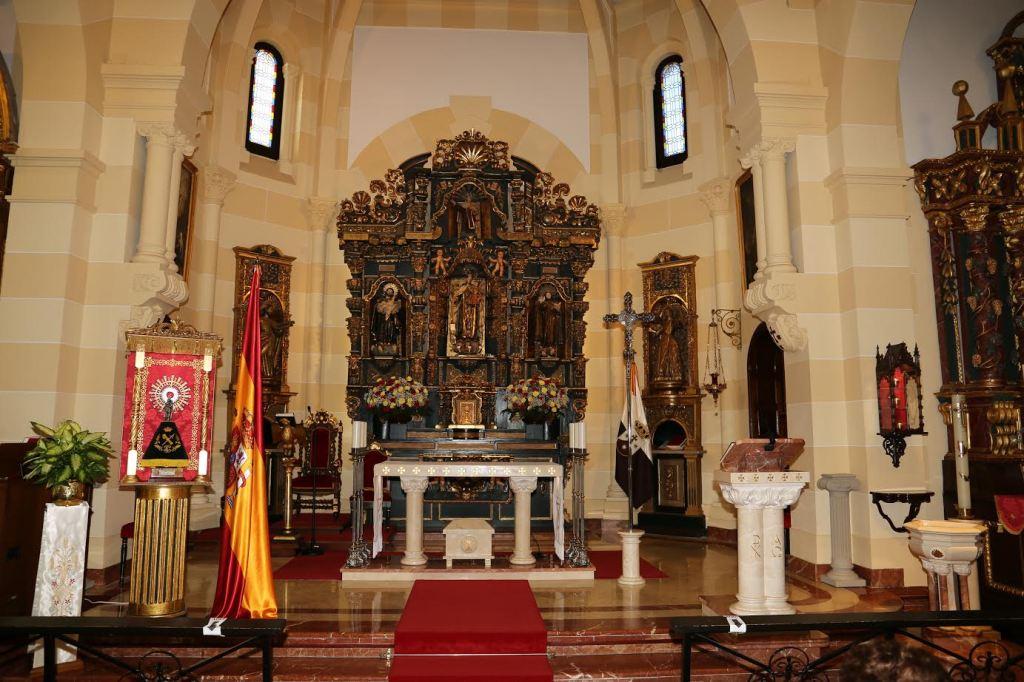 Festividad de Nuestra Señora del  Pilar Misa solemne a las 12.00 horas en honor de de la Virgen del Pilar Patrona de la Guardia Civil.